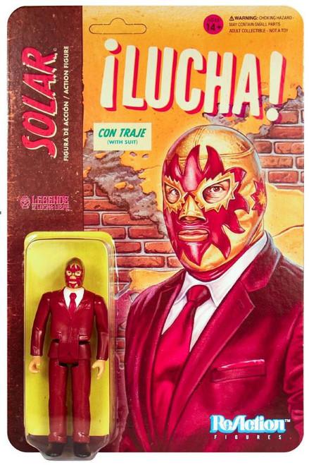 ReAction Legends of Lucha Libre Solar Action Figure [Suit]