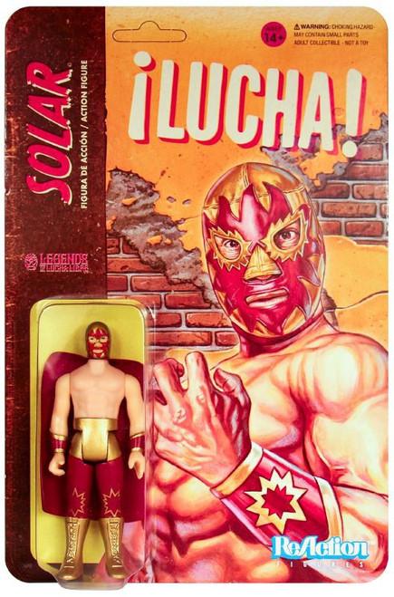 ReAction Legends of Lucha Libre Solar Action Figure