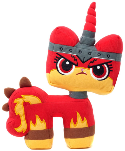 The LEGO Movie 2 Angry Kitty 12-Inch Plush