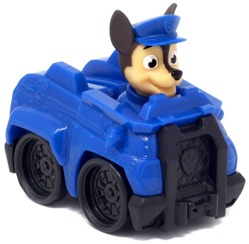 Paw Patrol Rescue Racer Chase in Police Vehicle Figure [Figure Does Not Come Out! Version 2]