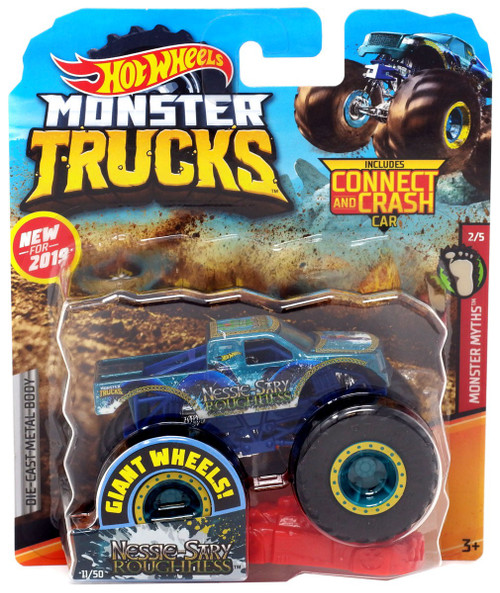Hot Wheels Monster Trucks Monster Myths Nessie-Sary Roughness Diecast Car