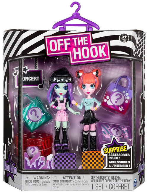 Off the Hook Concert Brooklyn & Alexis Mini Doll 2-Pack