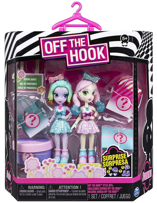Off the Hook Spring Dance Naia & Janni Mini Doll 2-Pack