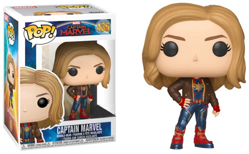 Funko POP! Marvel Captain Marvel Exclusive Vinyl Figure #435 [with Jacket]
