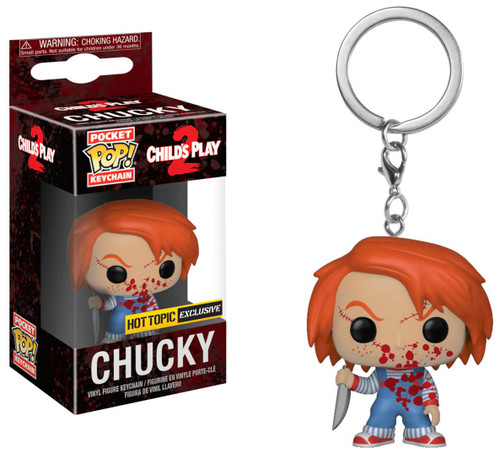 Funko Child's Play Pocket POP! Movies Chucky Exclusive Keychain [Bloody]