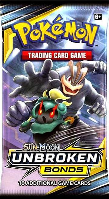 Pokemon Trading Card Game Sun & Moon Unbroken Bonds Booster Pack [10 Cards]