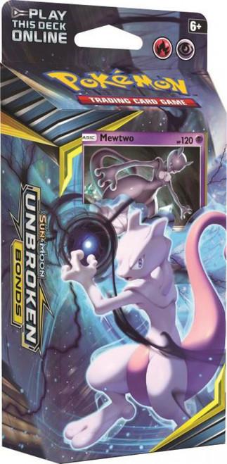 Pokemon Trading Card Game Sun & Moon Unbroken Bonds Battle Mind Theme Deck [Mewtwo]
