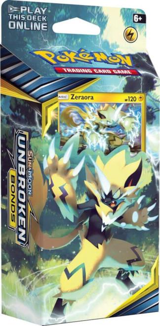 Pokemon Trading Card Game Sun & Moon Unbroken Bonds Lightning Loop Theme Deck [Zeraora]