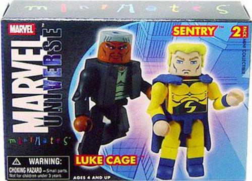 Marvel Universe Minimates Series 12 Luke Cage & Sentry Minifigure 2-Pack