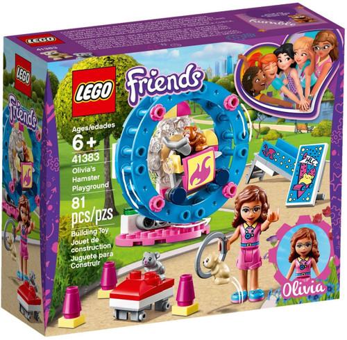 LEGO Friends Olivia's Hamster Playground Set #41383