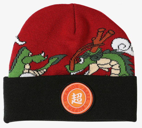 Dragon Ball Z Dragon Ball Super Shenron Watchman Beanie