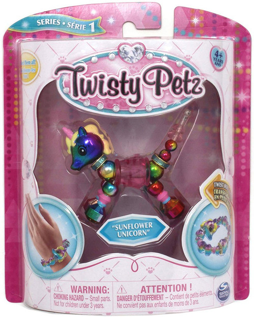 Twisty Petz Sunflower Unicorn Bracelet