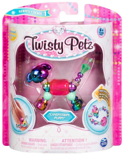 Twisty Petz Candystripe Puppy Bracelet
