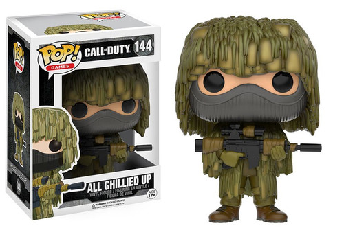 Funko Call of Duty POP! Games All Ghillied Up Vinyl Figure #144 [Damaged Package]