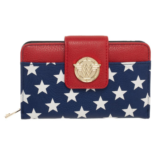 DC Wonder Woman Zippered Wallet (Pre-Order ships February)