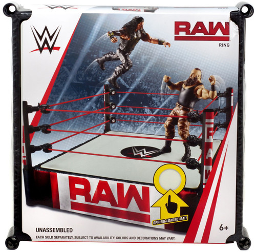 WWE Wrestling Raw Superstar Ring [Spring-Loaded Mat]