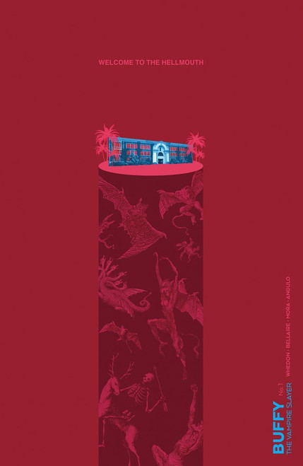 Boom Studios Buffy The Vampire Slayer #1 Comic Book [Carey Preorder Cover]