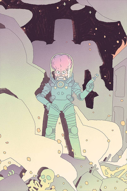 Dynamite Entertainment Mars Attacks #4 Comic Book [Smart Virgin Cover]