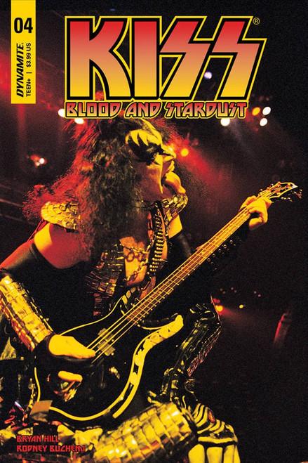 Dynamite Entertainment Kiss Blood Stardust #4 Comic Book [Cover D]
