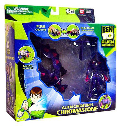 Ben 10 Alien Force Alien Creatures Chromastone Action Figure Set [Damaged Package]
