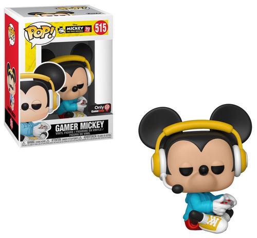 Funko POP! Disney Gamer Mickey Exclusive Vinyl Figure #515 [Sitting]