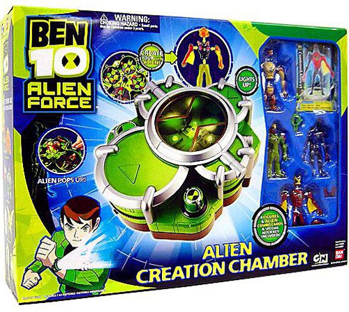 Ben 10 Alien Force Alien Creation Chamber Playset [Green, Damaged Package]