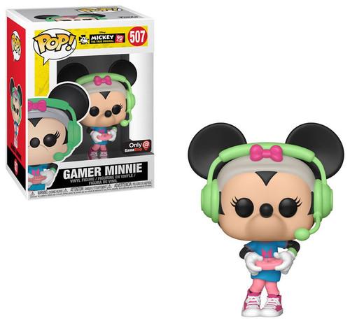 Funko POP! Disney Gamer Minnie Exclusive Vinyl Figure #507