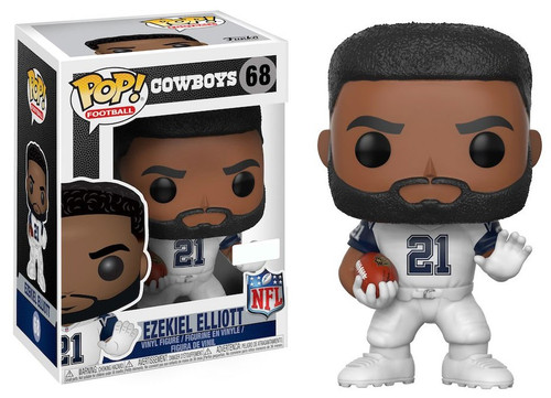 Funko NFL Dallas Cowboys POP! Sports Football Ezekiel Elliott Vinyl Figure #68 [Color Rush]