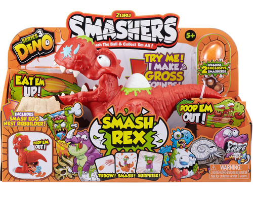 Smashers Series 3 Dino Smash Rex Playset