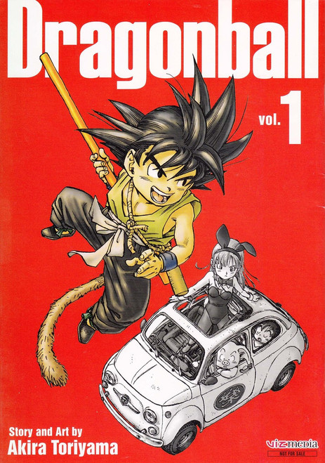 Viz Media Dragon Ball / Dragon Ball Super Volume 1 Flipbook Preview