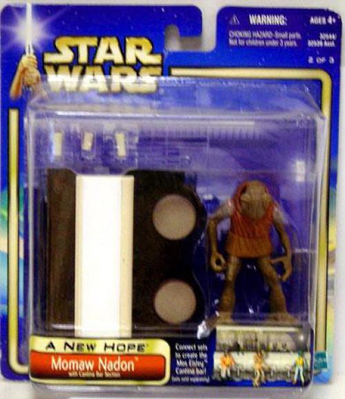 Star Wars A New Hope Saga 2002 Momaw Nadon Exclusive Action Figure