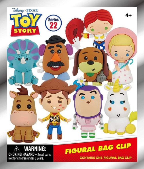 3D Figural Foam Bag Clip Disney Series 22 Toy Story Classic Mystery Pack [1 RANDOM Figure]
