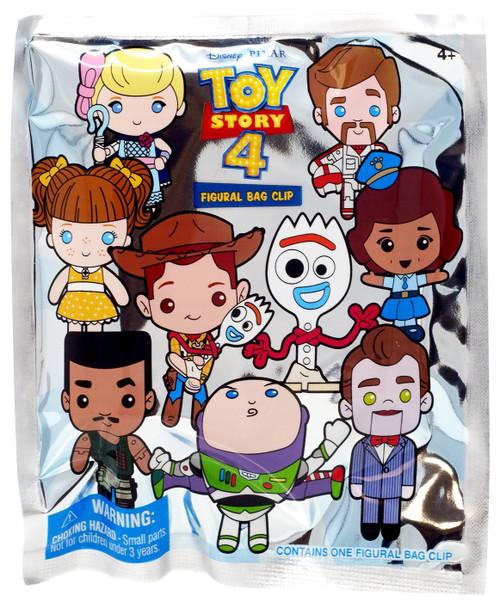 Disney 3D Figural Foam Bag Clip Toy Story Mystery Pack [1 RANDOM Figure]