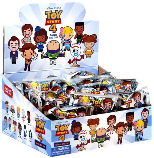 Disney 3D Figural Foam Bag Clip Toy Story Mystery Box [24 Packs]