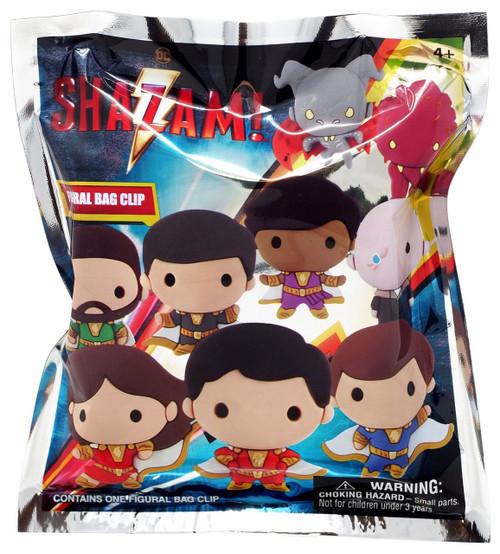 DC 3D Figural Foam Bag Clip Shazam Mystery Pack [1 RANDOM Figure]