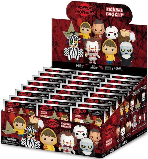 3D Figural Foam Bag Clip Horror Series 4 Mystery Box [24 Packs]