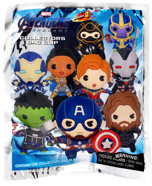 Marvel 3D Figural Foam Bag Clip Series 2 Avengers: Endgame Mystery Pack [1 RANDOM Figure]