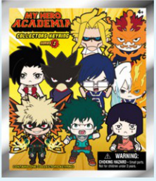 3D Figural Foam Bag Clip My Hero Academia Series 2 Mystery Pack