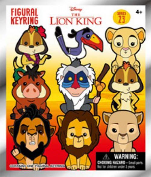 3D Figural Foam Bag Clip Disney Series 23 Lion King Mystery Pack [1 RANDOM Figure]