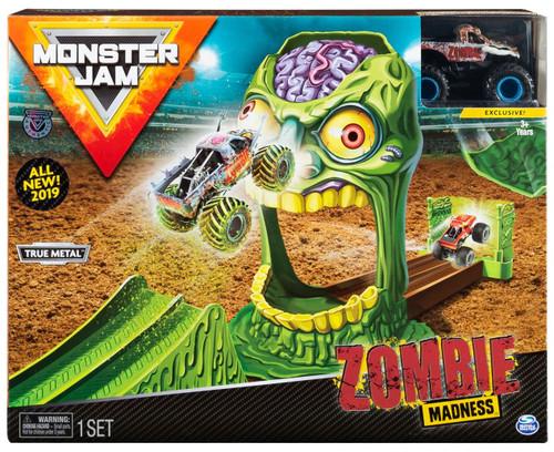 Monster Jam Zombie Madness Playset [Blue Wheels]