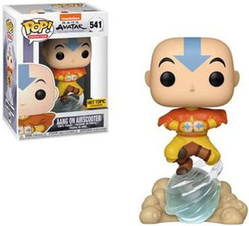 Funko Avatar The Last Airbender POP! Animation Aang on Airscooter Exclusive Vinyl Figure #541 [Damaged Package]
