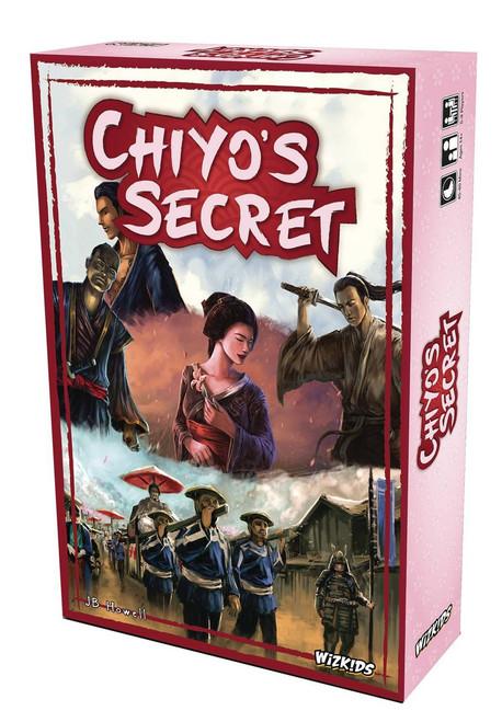 WizKids Chiyo's Secret Card Game