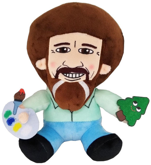 Phunny Bob Ross 8-Inch Plush [Sitting] (Pre-Order ships June)