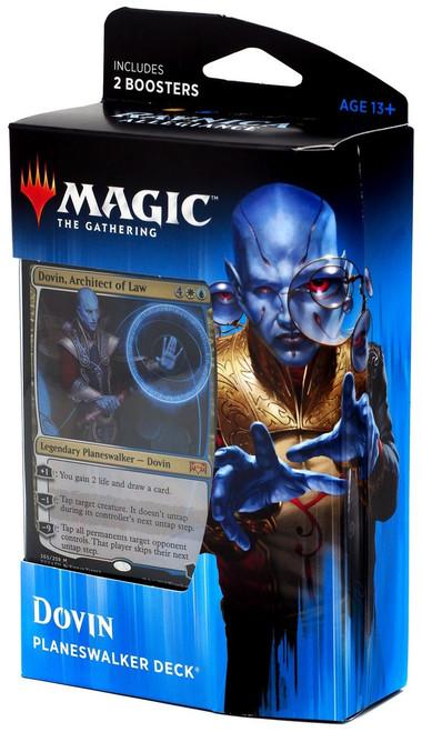 MtG Trading Card Game Ravnica Allegiance Dovin Planeswalker Deck