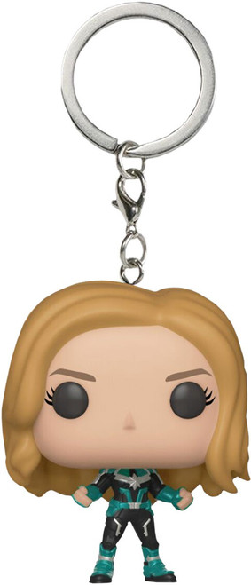Funko Captain Marvel POP! Marvel Vers Exclusive Keychain