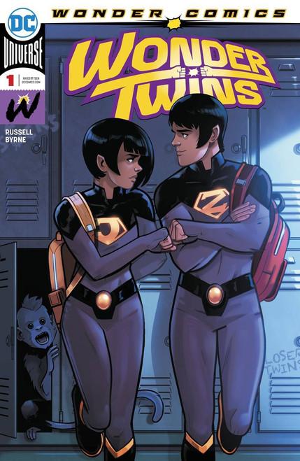 DC Wonder Twins #1 Comic Book