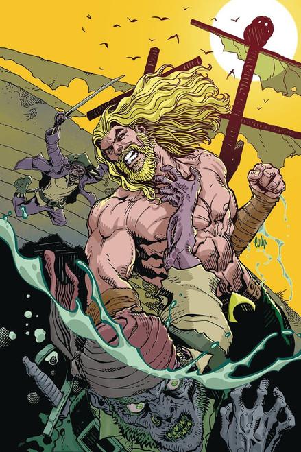 DC Aquaman #45 Comic Book [Hamner Variant Cover]