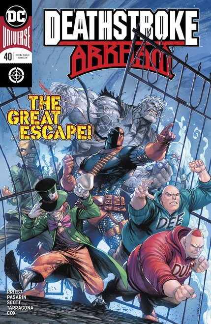 DC Deathstroke #40 Arkham Comic Book