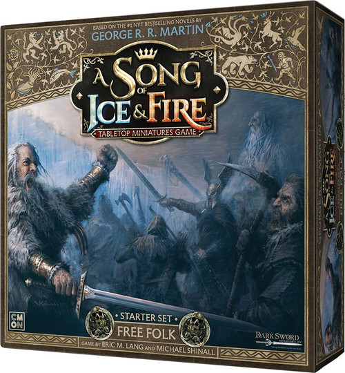 A Song of Ice & Fire Free Folk Tabletop Miniatures Game Starter Set