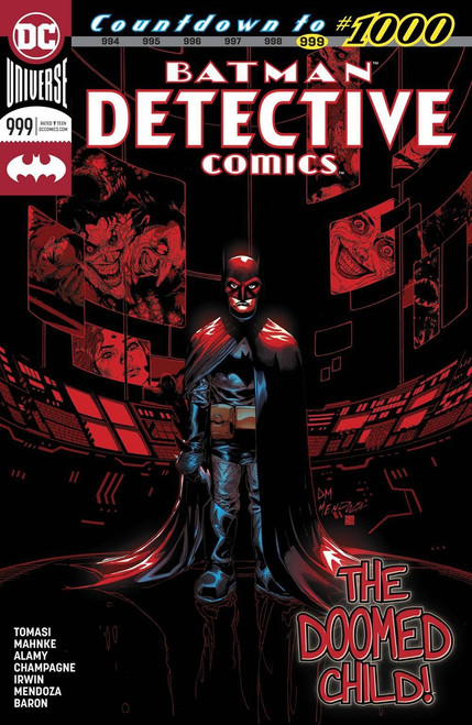 DC Detective Comics #999 Comic Book